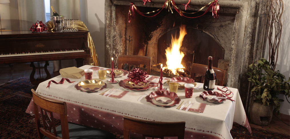 table de noel traditionnel